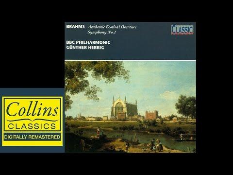 Brahms - Symphony No.1 and Academy Festival Overture - BBC Philarmonic Orchestra - HERBIG
