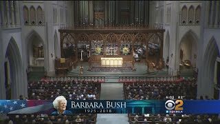 US: Former first lady Barbara Bush laid to rest