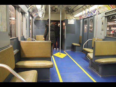 Aboard R7A #1575 (M) between West 4th Street and Queens Plaza