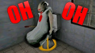 Funny moments in Granny The Horror Game    Experiments with Granny Episode 22