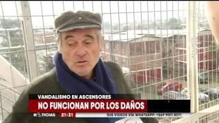 Vecinos de estaciones de Tren Central acusan que asesores no funcionan - CHV Noticias