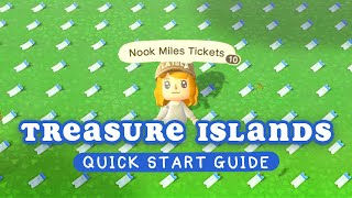 Quick Start Guide to Treasure Islands in Animal Crossing New Horizons