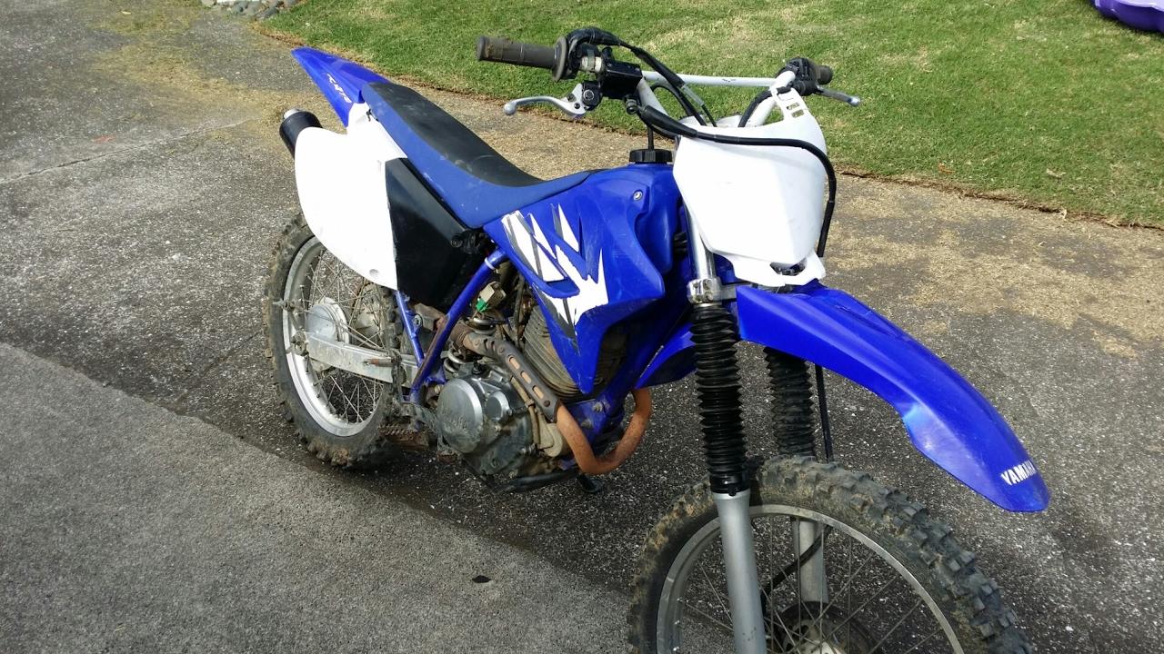 2006 TTR230 top speed! 6 gears - YouTube