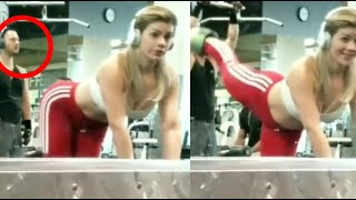 When Women Show Off At The Gym