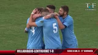 Serie D Girone D Villabiagio-Lentigione 1-0