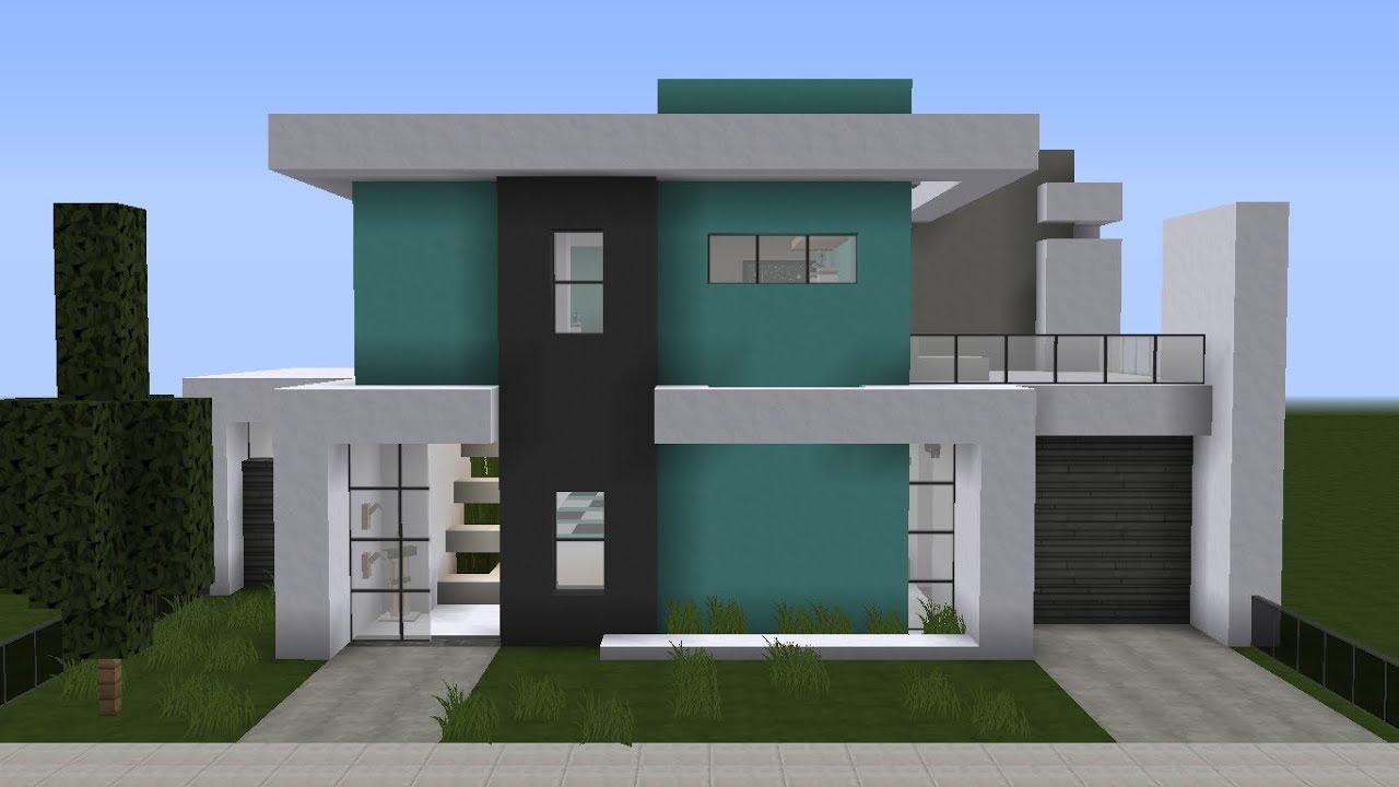 Modern House = Casa Moderna = Minecraft #5