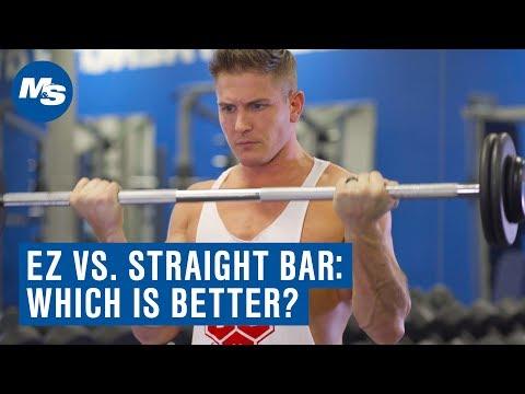 EZ Bar Vs Straight Bar Curl: Which is Better For Building Biceps? (ft. Scott Herman)