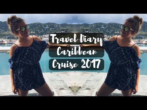 TRAVEL DIARY: Caribbean Cruise Vlog 2017 | Hannah Foster