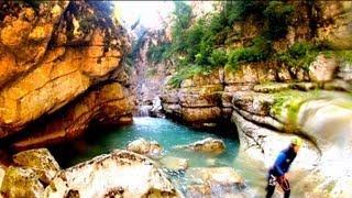 Canyoning St Auban (06) HD