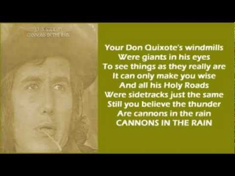 John Stewart Cannons In The Rain Lyrics 1973 Youtube