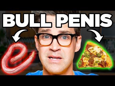 Penis Pesto Pizza Taste Test | FOOD FEARS