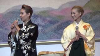 宝塚歌劇新世紀101年の幕開け!元旦鏡開き.