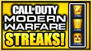 Modern Warfare Multiplayer All Killstreaks Leaked! (Call of Duty Modern Warfare Killstreaks List)