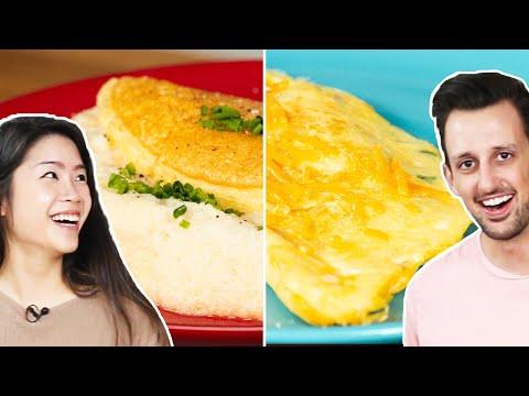 Trendy Vs. Traditional: Omelets • Tasty