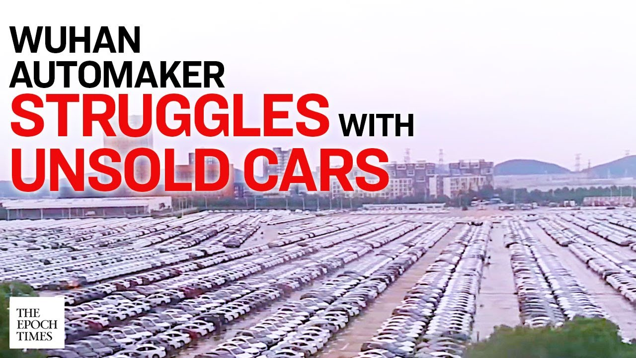 Miles of Unsold New Cars Seen at Wuhan's Dongfeng Motor Group |CCP Virus |Coronavirus |Epoch News