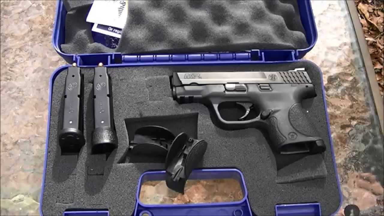 Smith And Wesson 12039 Unboxing: Unboxing My Smith & Wesson M&P 9c