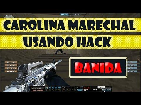 .caroliNNNa. Marechal Usando Hack - FINALMENTE BANIDA - CrossFire AL