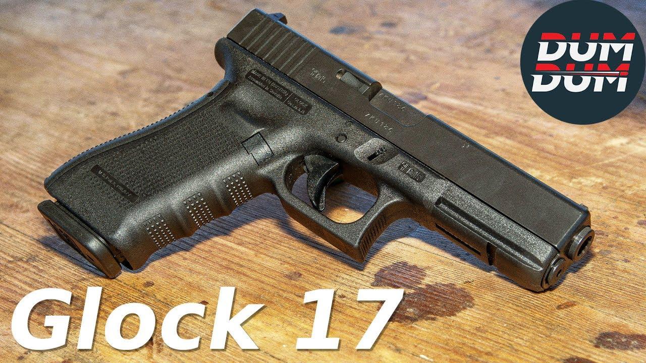 Glock 17 Gen4 opis pištolja (gun review, eng subs) - YouTube
