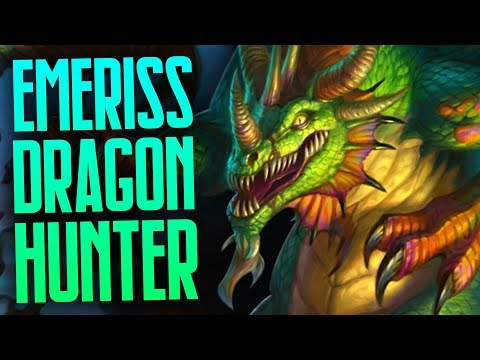 Emeriss Dragon Hunter | Rastakhan's Rumble | Hearthstone