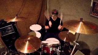 """JOHNNY CASH """"Folsom Prison Blues"""" Performed by Hunter Hayes (Drum Cover)"""