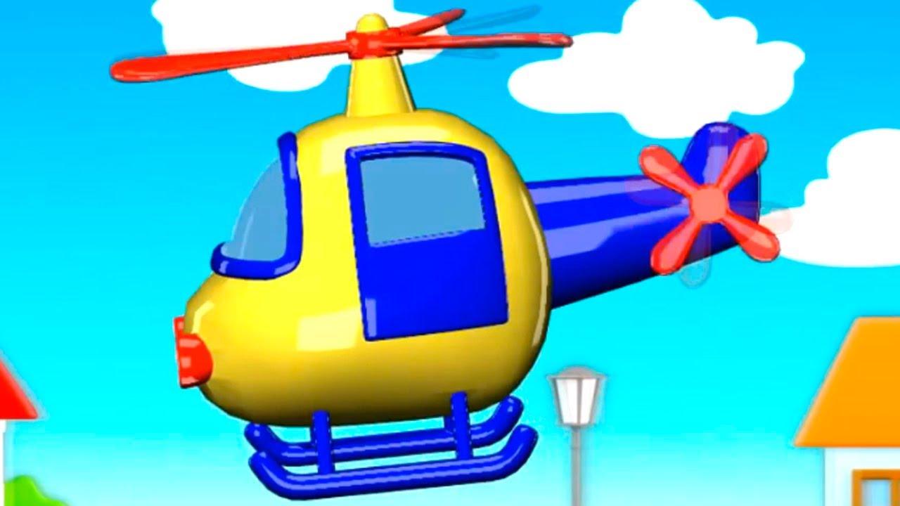 HélicoptèreDessin Animé Enfants Les En Petit Pour Mon Français ALScj35q4R