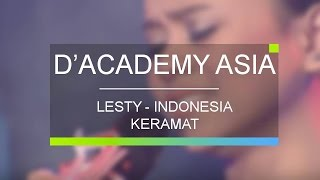Video Lesti, Indonesia - Keramat (D'Academy Asia 10 Besar Group A Result) download MP3, 3GP, MP4, WEBM, AVI, FLV November 2018