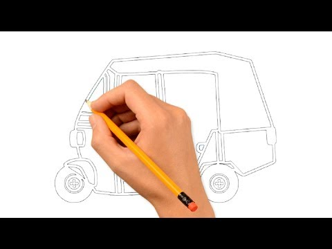 How To Draw A Car Easy For Kids Step By Step Myhiton