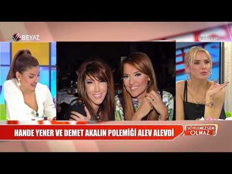 Hande Yener ve Demet Akalın polemiği alev alevdi