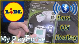Unboxing Lidl bluetooth Radiator Thermostat - RT2000BT - 303