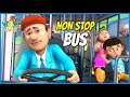 Chacha Bhatija in Punjabi | Non Stop Bus | Punjabi Cartoons for Kids | Wow Kidz Punjabi