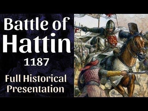 The Battle of Hattin, 1187 - Saladin vs. Crusaders - full documentary