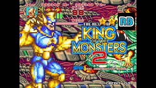 1992 [60fps] King of the Monsters 2 Atomic Guy ALL