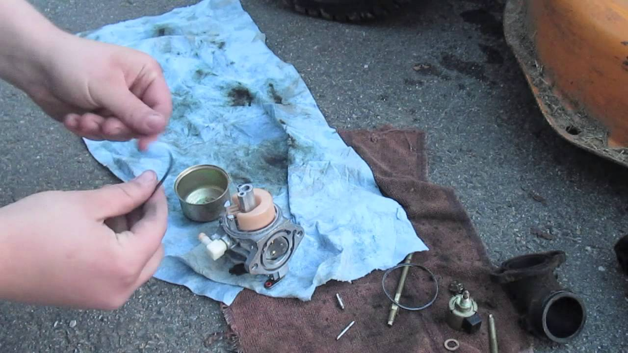 How To Rebuild A Briggs And Stratton Intek Carburetor