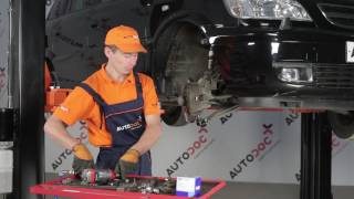 Πώς αλλαζω Κυλινδράκια τροχών ALFA ROMEO 159 - βήμα - βήμα εγχειρίδια βίντεο