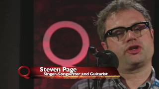Guitar Lesson by Steven Page on Q TV