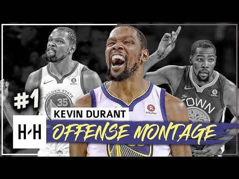 Kevin Durant MVP Montage, Full Offense Highlights 2017-2018 (Part 1) - The SLIM Reaper!