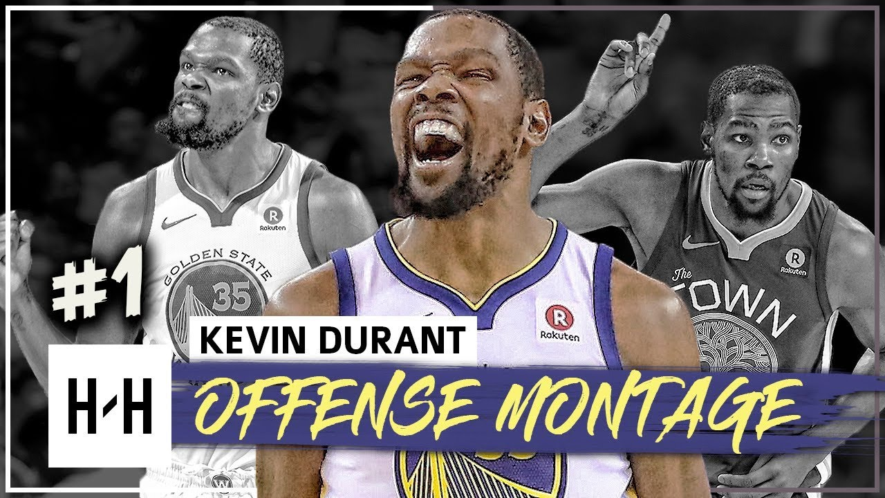 Download Kevin Durant MVP Montage, Full Offense Highlights 2017-2018 (Part 1) - The SLIM Reaper!