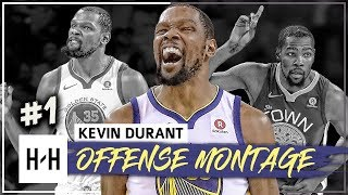 Kevin Durant MVP Montage, Full Offense Highlights 2017 2018 Part 1 The SLIM Reaper