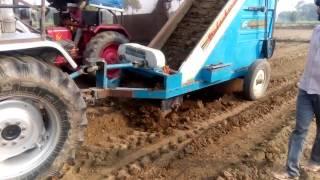 मिट्टी भरने की नयी मशीन