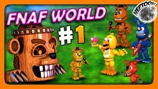 FNaF World (Мир ФНАФ) Прохождение #1 ✅ RPG по ФНАФ | ВСЕМ КЕКСОВ!
