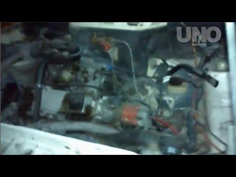Robaron la batería de un auto en Mendoza y San Lorenzo