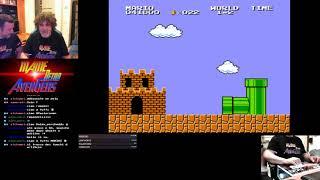 AGO&SK giocano Vs  Super Mario Bros, Qix, Galaga, Pacman