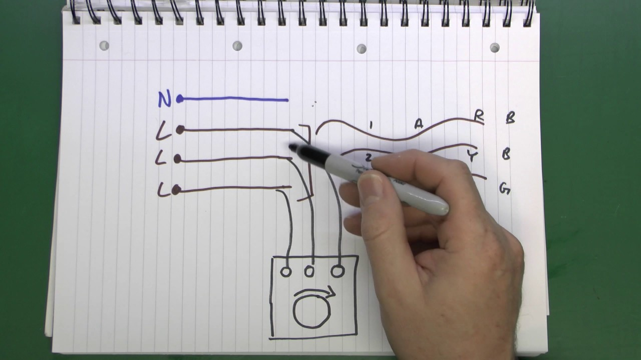 3 Phase Converter Wiring Diagram Testing Phase Sequence Youtube