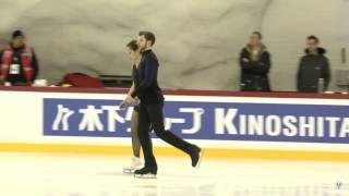 민유라 & 알렉스 겜린 Yura Min Alex Gamelin 2017 Worlds SD practice 0331