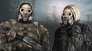 ОДИНОЧКИ VS БАНДИТЫ. STALKER Call of Chernobyl КОРОЛЕВСКАЯ БИТВА #2