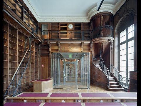 After a decade of renovation,  The national library of France has reopened