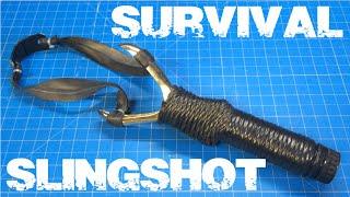 Diy $5 Survival Slingshot From Household Items!