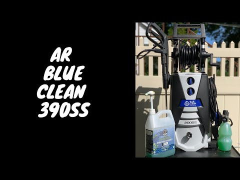 AR Blue Clean 390SS 2000 PSI Electric Power Washer Review