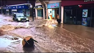 Letarolta a Dennis nevű vihar a brit szigetek egy részét