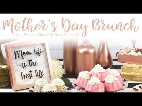 Diy Mother S Day Brunch Inspiration Decoart Youtube